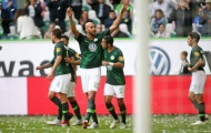 Bundesliga sau 2 vòng: Wolfsburg làm lu mờ Bayern