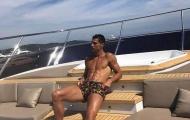 Ronaldo tung hình ảnh cực chất dù tịt ngòi ở Juventus