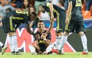 Max Allegri 'hỏi tội' UEFA sau chiếc thẻ đỏ của Ronaldo