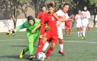 U16 nữ Việt Nam vùi dập U16 nữ Bahrain 14 bàn không gỡ