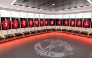 Man Utd giới thiệu phòng thay đồ mới tuyệt đẹp
