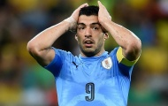 Đây, lý do HLV ĐT Uruguay gạch tên Luis Suarez