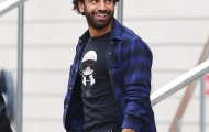 Salah tươi cười xuất hiện tại nơi hội quân của Man Utd