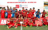 Tổng kết Hạng Nhất 2018: Viettel xưng vương, CAND trở về giải hạng Nhì