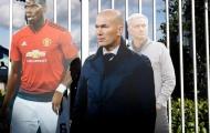 Mourinho chưa đi, Zidane đã có mặt tại Old Trafford