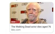 Sốc: Sao Walking Death qua đời sau bàn thắng của Ramsey
