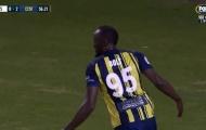 'Fan cứng M.U' Usain Bolt toả sáng rực rỡ, lập tức nói về tương lai