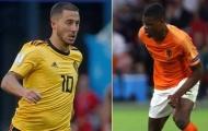 01h45 ngày 17/10, Bỉ vs Hà Lan: Đại chiến giữa hai cựu thù