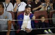 Nghỉ đá bóng, Messi chuyển nghề thành cổ động viên