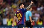 Thống kê: Barcelona không phụ thuộc vào Messi