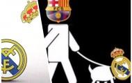 Thua thảm Barca, Real Madrid hoá 'cún cưng'