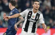 Bạn có thấy màn ăn mừng của Ronaldo sau tuyệt phẩm 1 chạm vào lưới Man Utd?