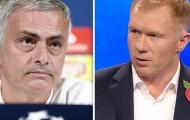 Paul Scholes chỉ trích Mourinho vì vấn đề lớn của Man Utd