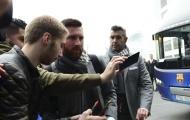 Tái đấu PSV, Messi vẫn được cổ động viên Hà Lan chào đón nồng nhiệt