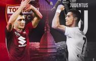02h30 ngày 16/12, Torino vs Juventus: Derby della Mole khó đảo chiều