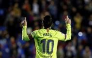Barca chiến thắng hủy diệt, hết từ ngữ diễn tả Messi