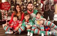 Messi, Suarez và dàn sao Barca đón Giáng sinh hạnh phúc bên gia đình