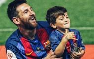 Messi: 'Con trai bắt tôi phải giải trình khi Barcelona thua cuộc'