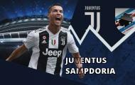 18h30 ngày 29/12, Juventus vs Sampdoria: Đại tiệc cuối năm
