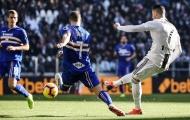 Hạ sát Sampdoria, Ronaldo lại thêm một lần đi vào lịch sử