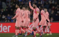Điểm nhấn Getafe 1-2 Barca: Giải thưởng vô nghĩa với Messi, đoàn quân Valverde quá đáng sợ