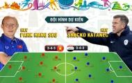 ĐT Việt Nam chốt đội hình: Đá 3-4-3, HLV Park Hang-seo chơi 'tất tay' với Iraq