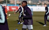 Messi vắng mặt trong ngày dàn sao Barca hớn hở tập luyện