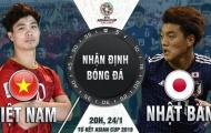 """20h00 ngày 24/01, ĐT Việt Nam vs ĐT Nhật Bản: Khuất phục chiến binh """"Samurai xanh"""""""