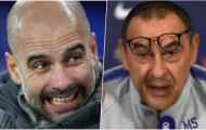 Guardiola khẳng định chắc nịch 1 điều về Chelsea và Sarri