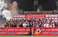 Samson lập cú đúp, Hà Nội FC đánh bại Bình Dương giành Siêu cúp