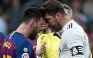Mourinho tiết lộ nguyên nhân Ramos thúc cùi chỏ vào mặt Messi