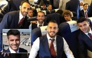 Có mặt ở Turin, Atletico Madrid sẵn sàng tiễn Ronaldo khỏi C1
