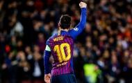 Quá xuất sắc, Messi nhận số điểm tương đương số áo