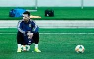 Messi gặp vấn đề trong đợt tập trung cùng tuyển Argentina