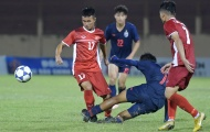'Tiểu Công Phượng' bị khóa chặt, U19 Việt Nam để U19 Thái Lan cầm hòa