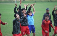 Thầy trò HLV Park Hang-seo tự tin trước đại chiến với U23 Thái Lan