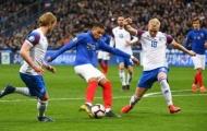 Pháp dẫn đầu bảng H sau chiến thắng hoành tráng trước Iceland