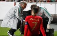 Ronaldo gặp chấn thương, Juventus bắt đầu lo lắng