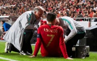 NÓNG: Ronaldo ấn định thời điểm trở lại dù vừa dính chấn thương