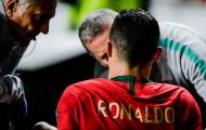 Ronaldo rời sân sớm vì chấn thương, BĐN chật vật có điểm trước Serbia