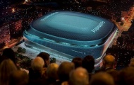 Choáng ngợp với SVĐ mới siêu hoành tráng của Real Madrid