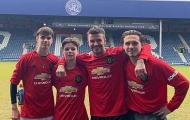 Mê Arsenal nhưng bị bắt mặc áo Man Utd, con trai Beckham hành động 'cực gắt'