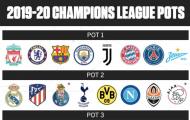 CHÍNH THỨC: Công bố nhóm hạt giống Champions League 2019/20