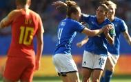 Vượt qua hàng xóm Việt Nam, nữ Ý giành vé vào tứ kết World Cup