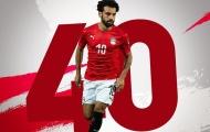Mohamed Salah đi vào lịch sử ĐT Ai Cập