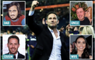 Frank Lampard và gia đình 'khủng' phía sau sự nghiệp lẫy lừng