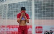 Thắng chủ nhà Tây Ninh, cầu thủ U17 Viettel vẫn khóc như mưa