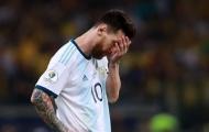 Tấm thẻ đỏ kết thúc sự nghiệp ĐTQG của Messi?