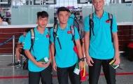 'Tiểu Công Phượng' Xuân Tạo và đồng đội lên đường sang Nhật Bản