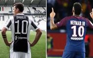 Đẩy đi số 10 bất trị, PSG thèm khát số 10 thất sủng tại thành Turin